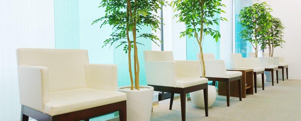 新潟市の内科・循環器内科にわやまハートクリニック:待合室