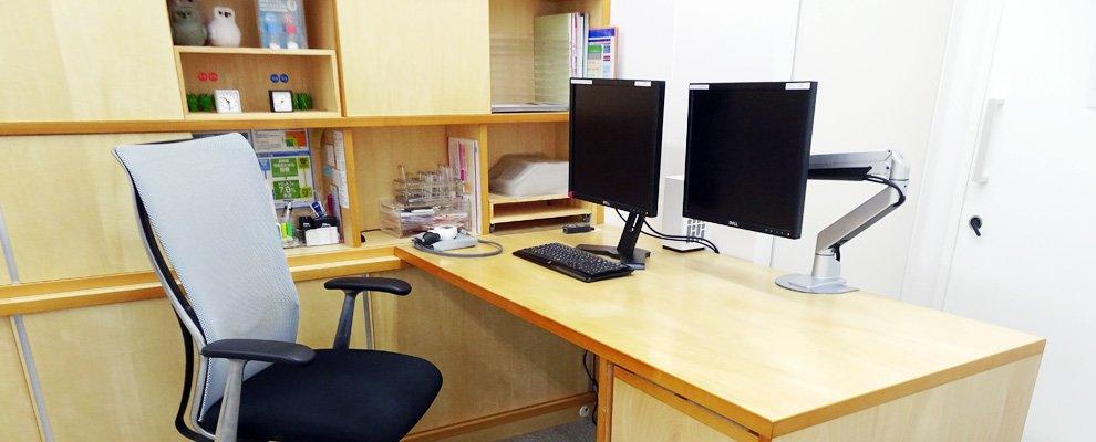 新潟市の内科・循環器内科にわやまハートクリニック:診察室